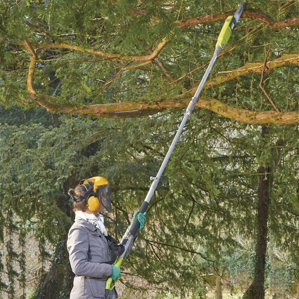Telescopic Pole Chainsaw Long Reach Electric Tree Pruner