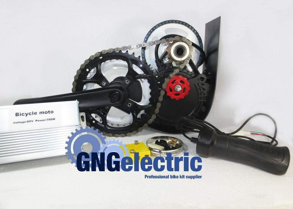 48v 500w Gng Chain Reduction Mid Drive Electric Motorized