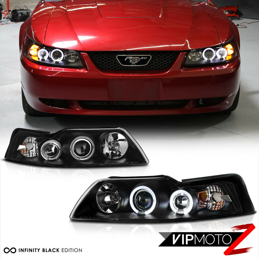 1999 2000 2001 2002 2003 2004 ford mustang v6 v8 black for Ebay motors mustang gt