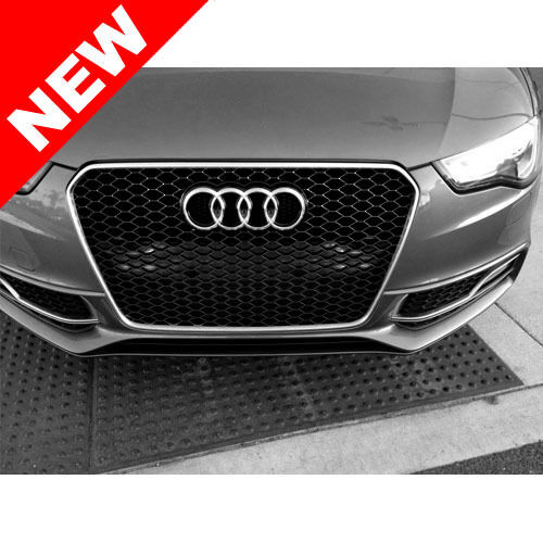 2013 audi a5 s5 b8 5 rs5 style euro honeycomb hex mesh. Black Bedroom Furniture Sets. Home Design Ideas