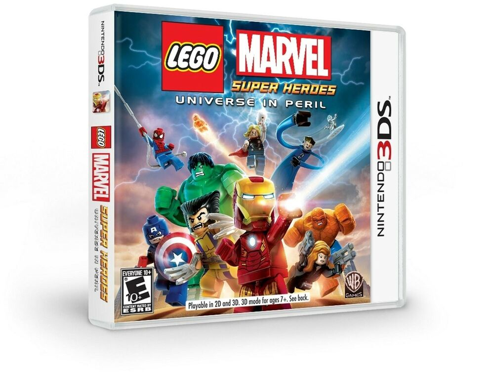 NEW LEGO Marvel Super Heroes -- Universe in Peril ...