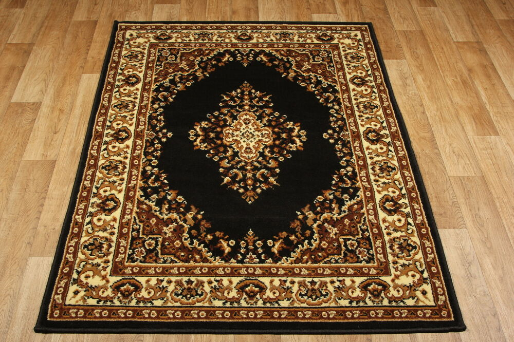 keshant brown 112z cheap budget traditional design rugs small large sizes ebay