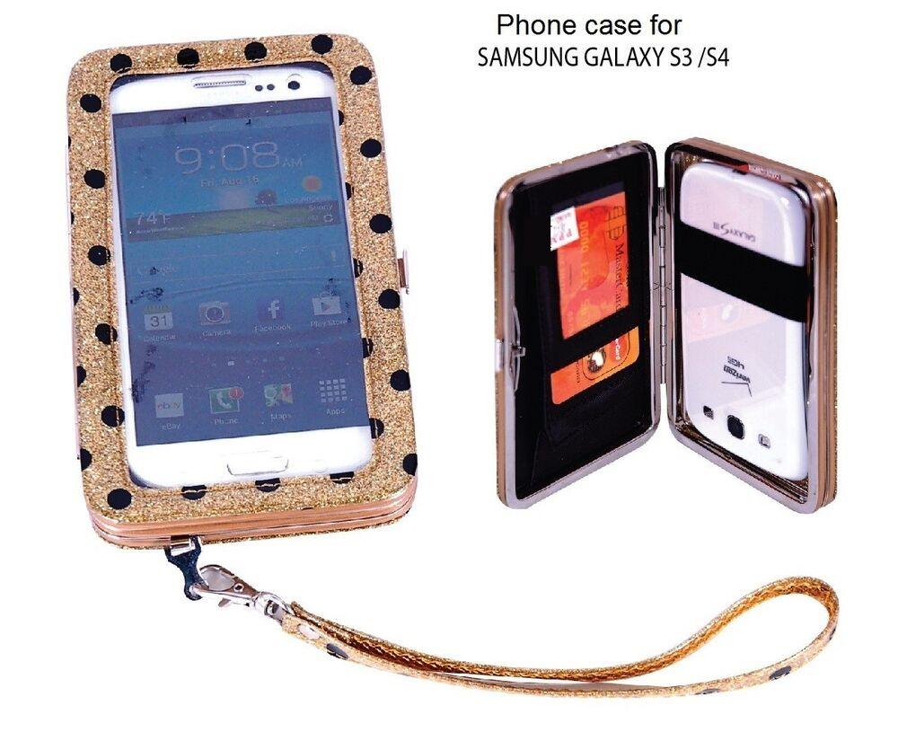 women�s cell phone clutch wristlet wallet case for