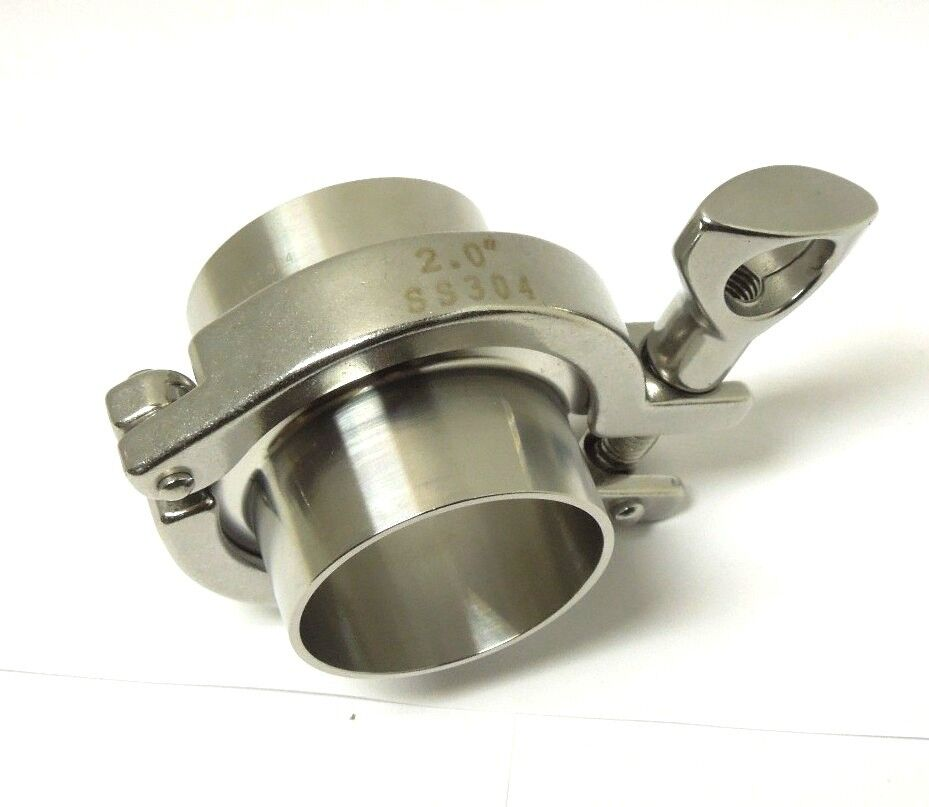 Sanitary assembly ″ ferrule gasket clamp stainless