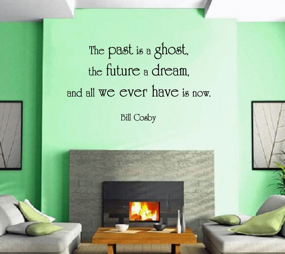 Wall stickers vinyl decal quote bill cosby for living room for Living room quotes for wall