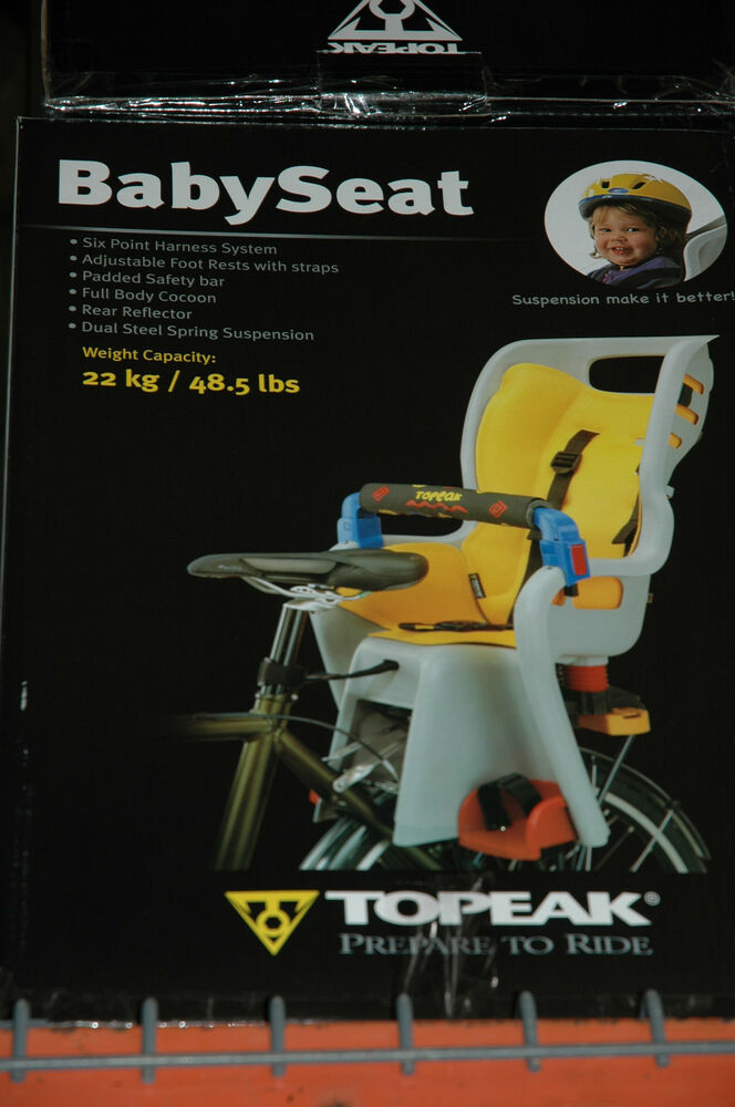 Topeak Bicycle Babyseat Ii Bike Baby Sitter Seat For Disc