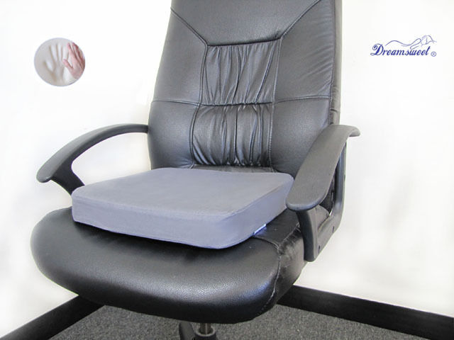 Dual Layer Memory Foam Seat Cushion Pad For Office Home