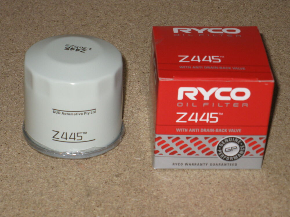 z445 ryco oil filter for nissan 200sx silvia 350z pulsar. Black Bedroom Furniture Sets. Home Design Ideas