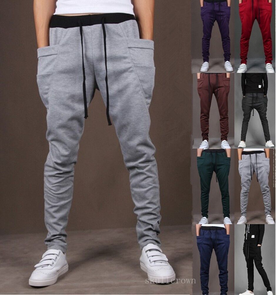 Fashion Sports Dance Trousers Men 39 S Women Boys Baggy Jogging Hiphop Harem Pants Ebay