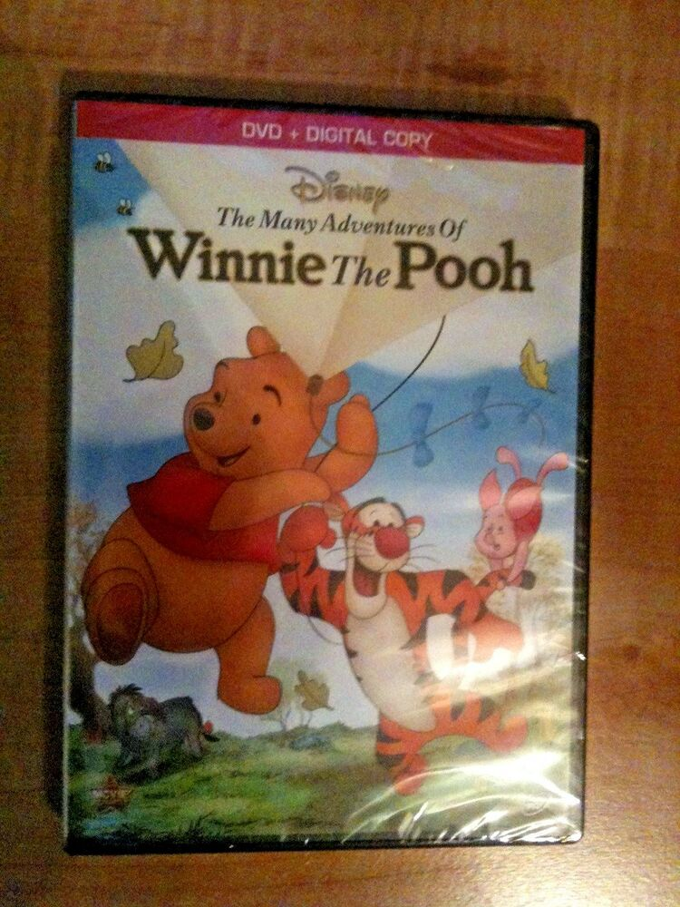 The Many Adventures of Winnie The Pooh Disney DVD ...