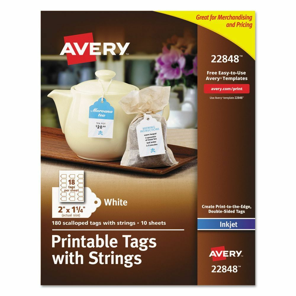 It is a picture of Challenger Printable Gift Tags Avery