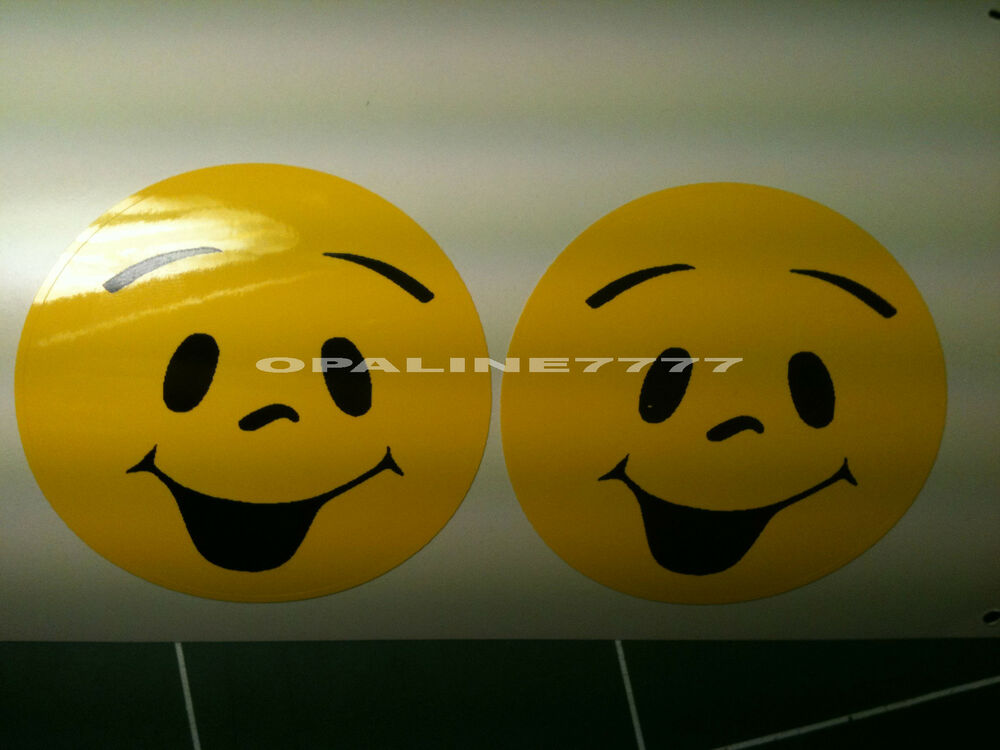 sticker autocollant smile smiley sourire casque moto velo humour ebay. Black Bedroom Furniture Sets. Home Design Ideas