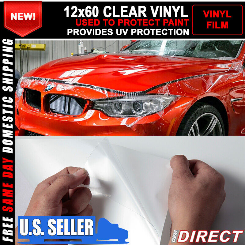 3m car paint protection vinyl film sticker clear