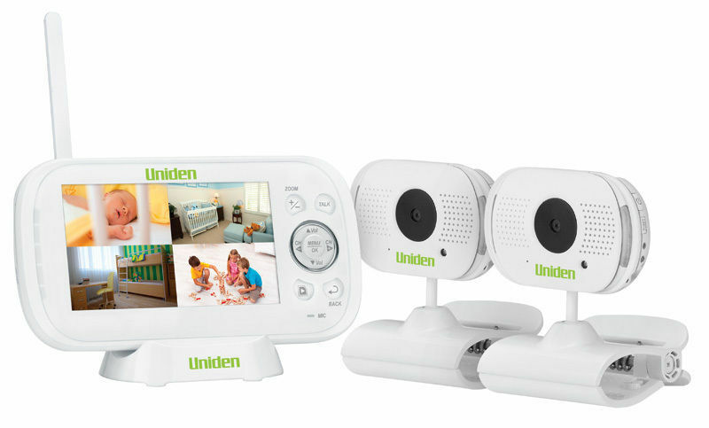 Uniden Bw3102 4 3 Twin Camera Digital Wireless Baby