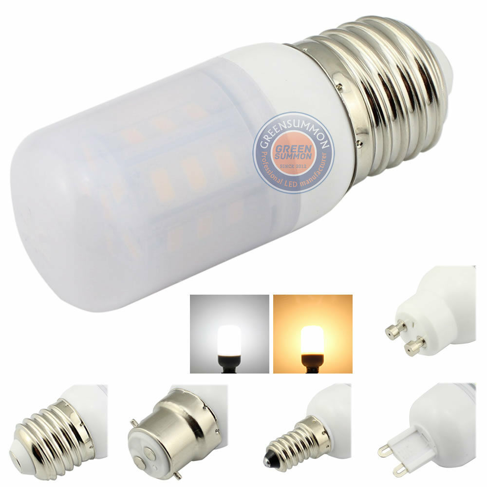 e12 e14 e26 e27 b22 g9 gu10 4w led warm white light 110v 220v frosted cover bulb ebay. Black Bedroom Furniture Sets. Home Design Ideas