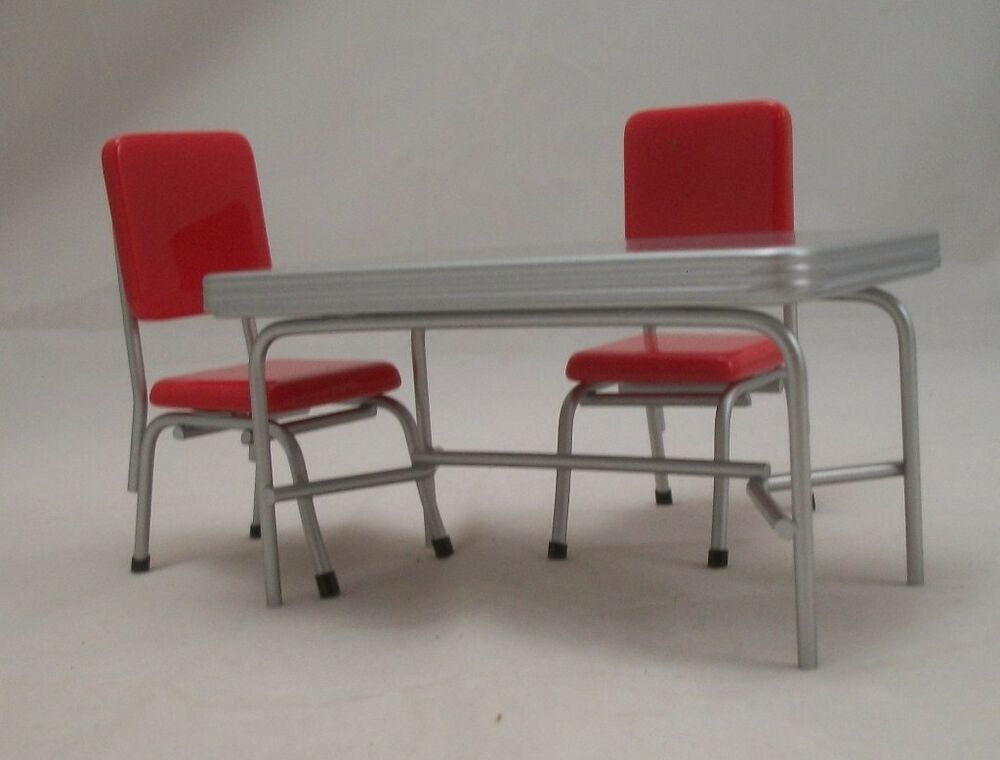 1950s Table Amp Chair Set T5935 Dollhouse Miniature