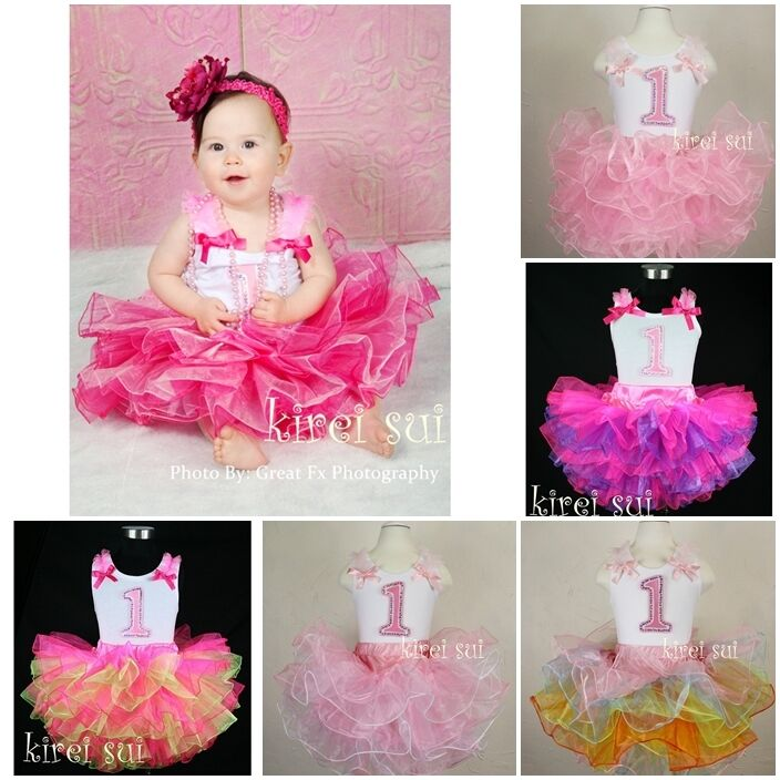 First Birthday Party Dress For Baby Girl - one year old birthday ...
