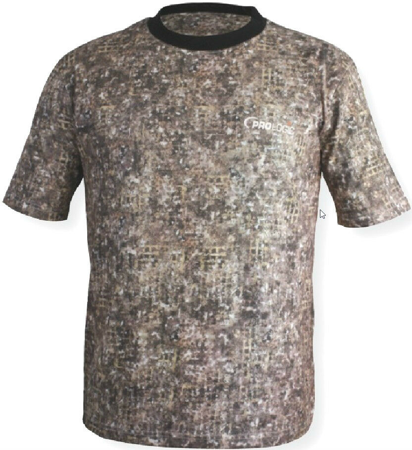 Clearance prologic mimicry3d camo t shirt carp barbel for Camo fishing shirt