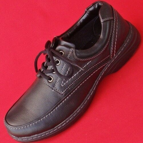 New Men S Croft Amp Barrow Wells Black Lace Up Leather