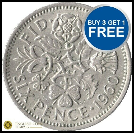 6 Pence Wedding Gift : LUCKY SIXPENCE WEDDING FAVOURS BUY 2 GET 1 FREE CHOICE OF DATE FREE ...