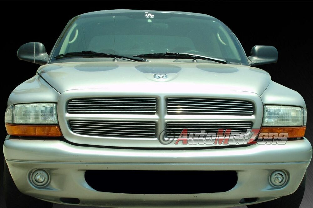 97 04 dodge dakota 97 03 durango 4pc billet grille grill. Black Bedroom Furniture Sets. Home Design Ideas