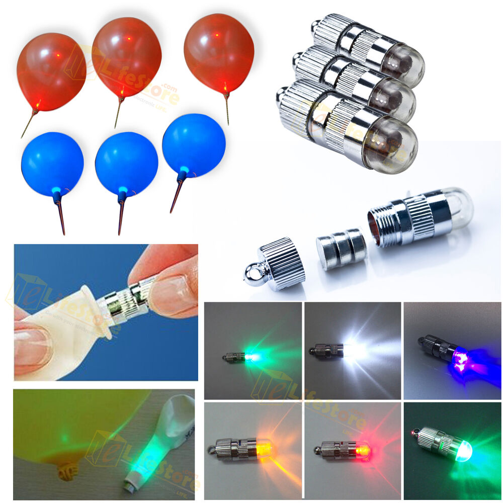 Led balloon lights for wedding birthday party decoration for Led a pile pour deco