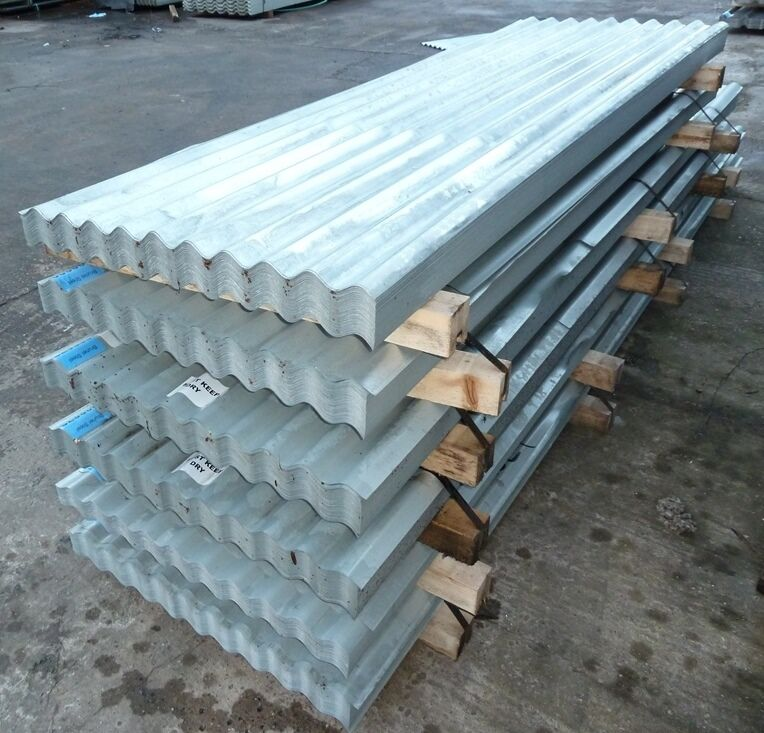 C Amp J Cladding : Roofing sheets corrugated galvanised steel metal cladding