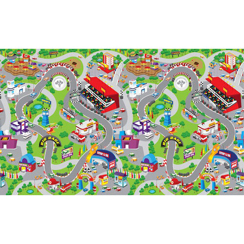 Children S Play Mat Race Track Design Baby Kid Playmat