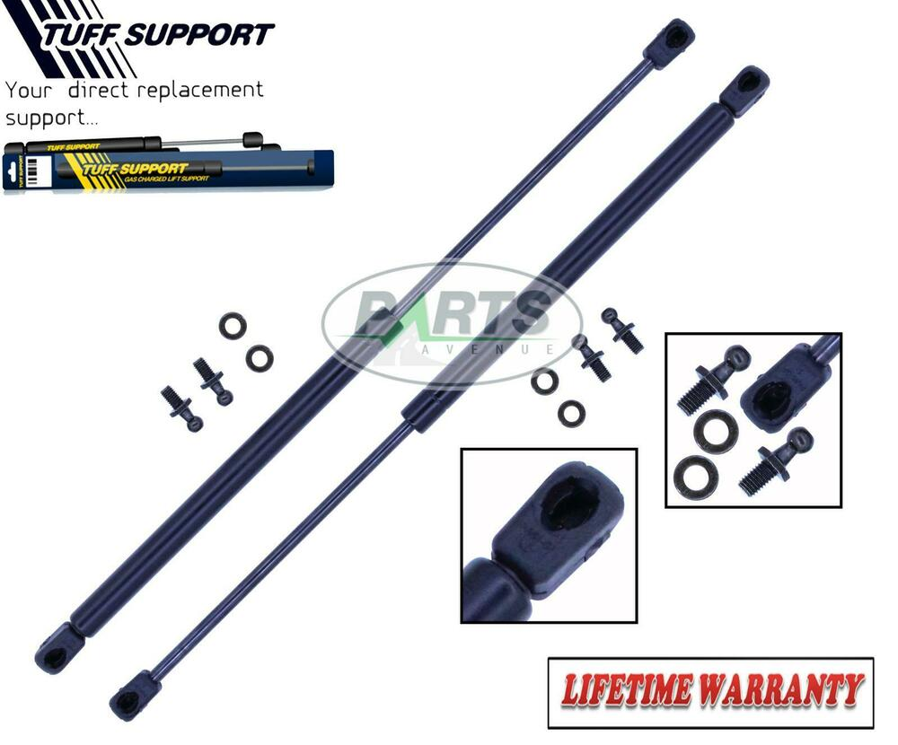 2 rear window glass lift supports shocks struts arms props for 1997 honda crv window motor