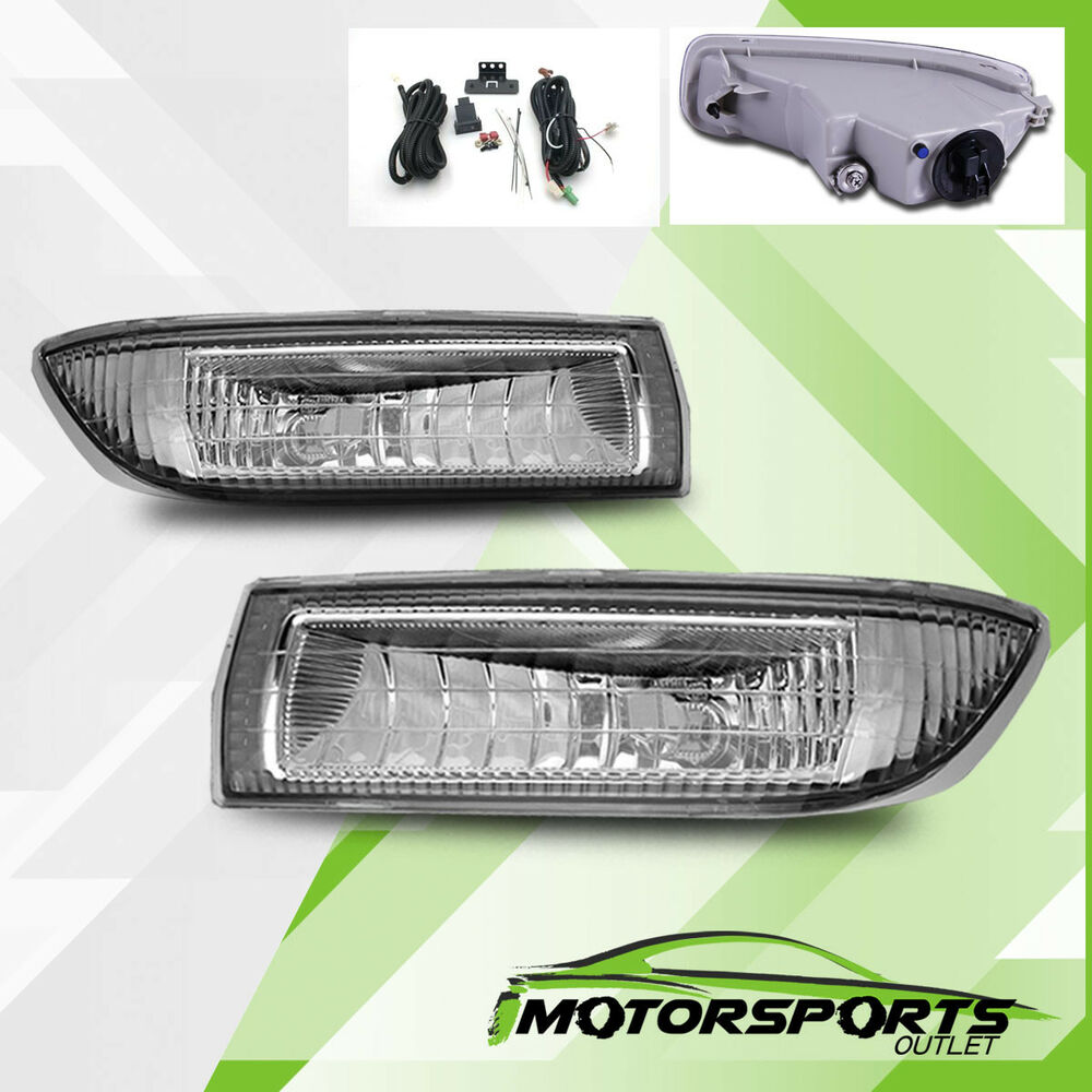 Toyota Camry 2003 Fog Light Ebay Bumper Clear Lights Lamps With Switch Wiring Replacement 2004 Corolla Euro W Harness Kit