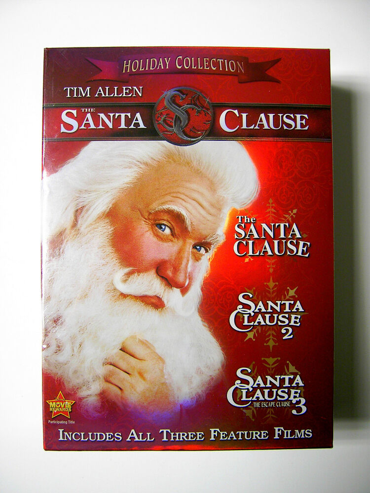 tim allen disney the santa clause trilogy three 3 movie