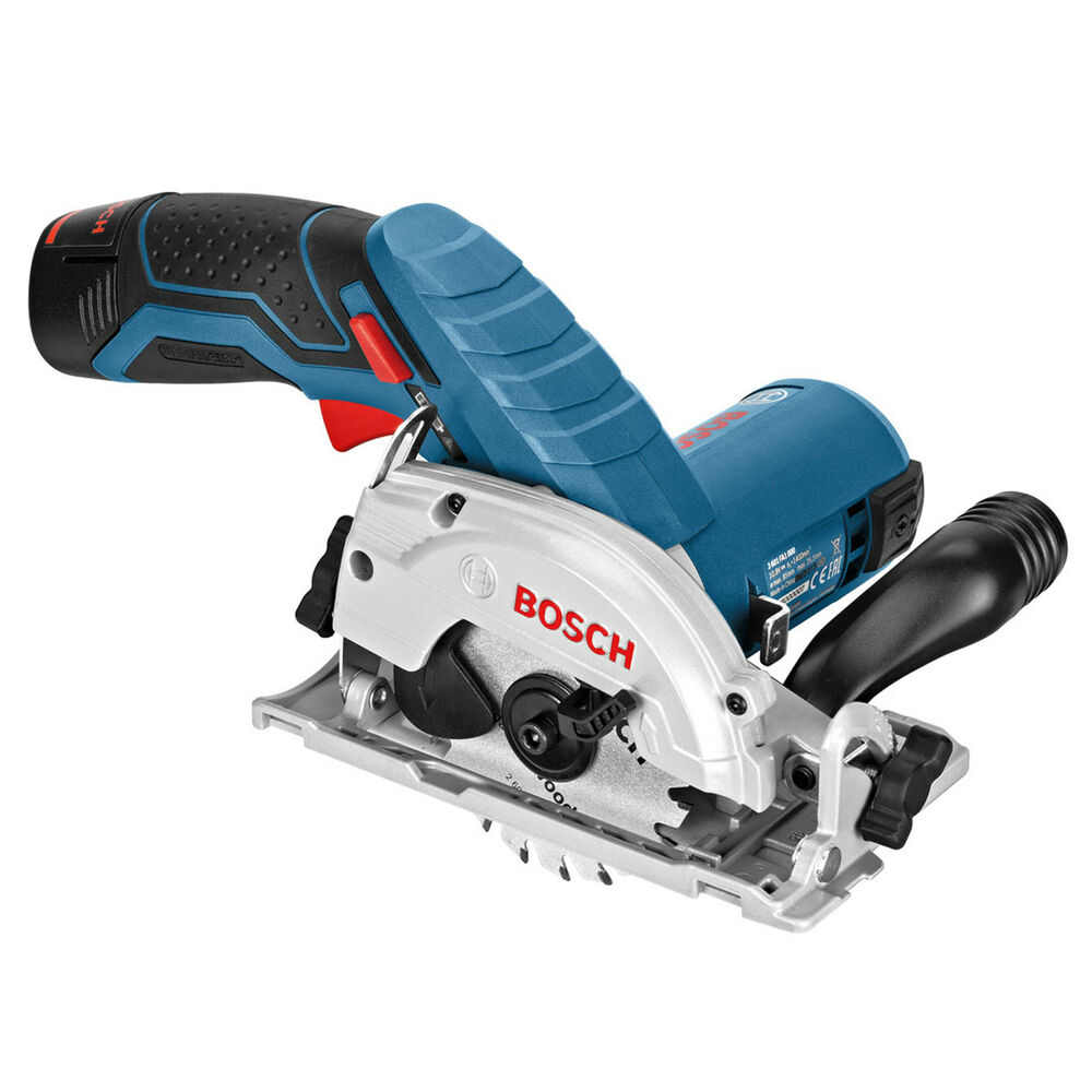 bosch gks10 8v cordless circular saw tool kit 2x2 0ah 10 8v battery l boxx case ebay. Black Bedroom Furniture Sets. Home Design Ideas