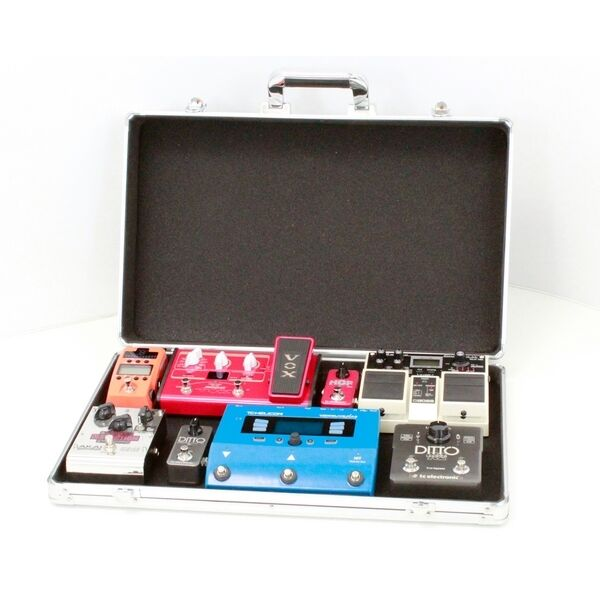 guitar effects pedal board case stagg upc 535 ebay. Black Bedroom Furniture Sets. Home Design Ideas