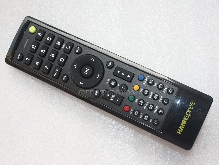 hannspree universal tv remote control 098gr7bd1nehsj 3832102 ebay. Black Bedroom Furniture Sets. Home Design Ideas