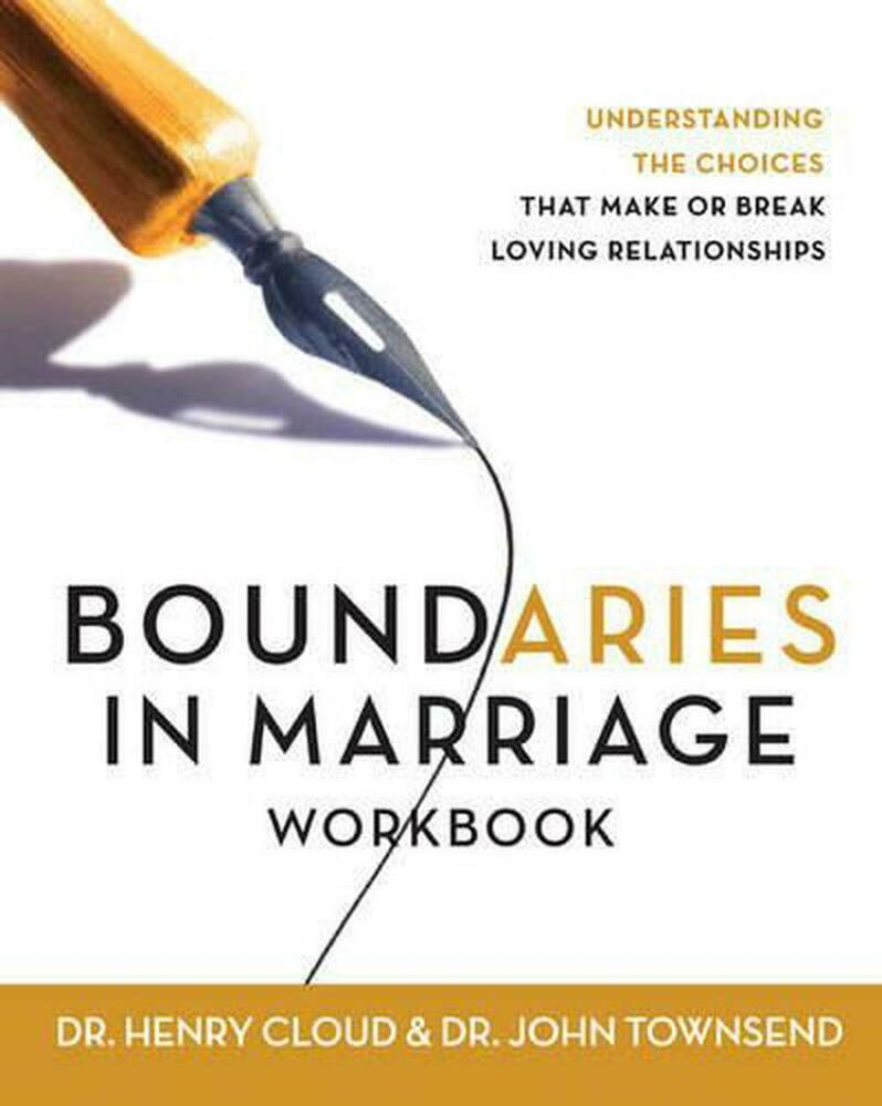 John townsend boundaries in dating