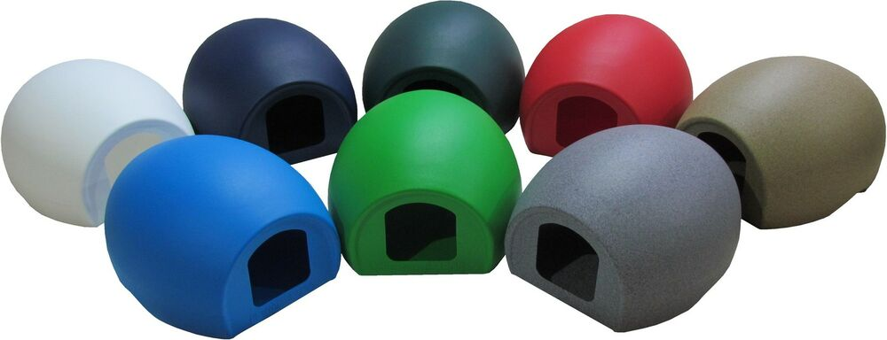 Heated Pet Outdoor Plastic Moulded Cat Pod Sun Shelter