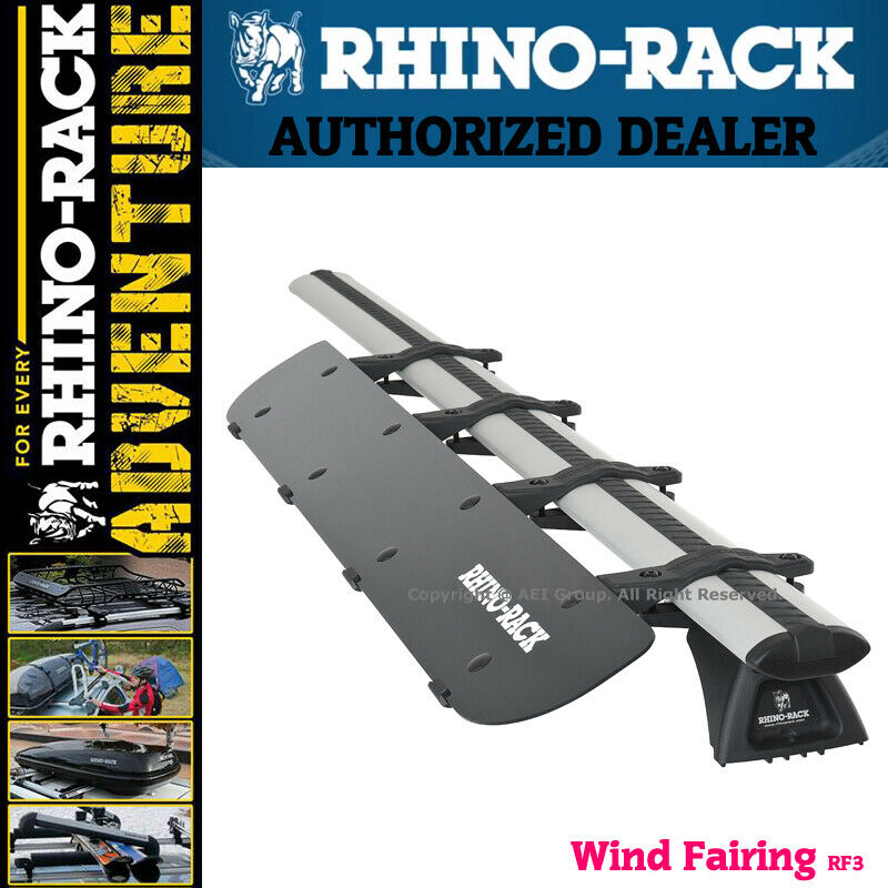 Rhino Rack Aerodynamic Roof Wind Fairing Air Deflector Kit