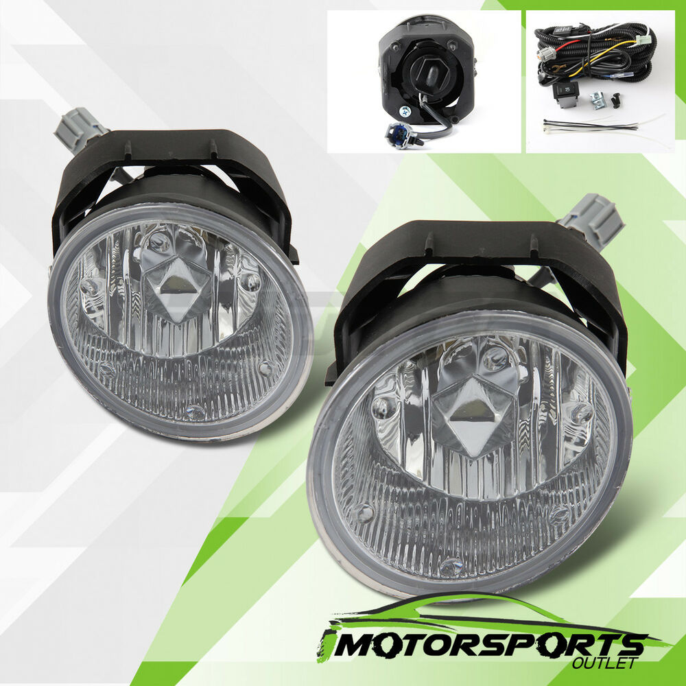 for 2001 2004 nissan frontier 2002 2004 xterra fog lights. Black Bedroom Furniture Sets. Home Design Ideas