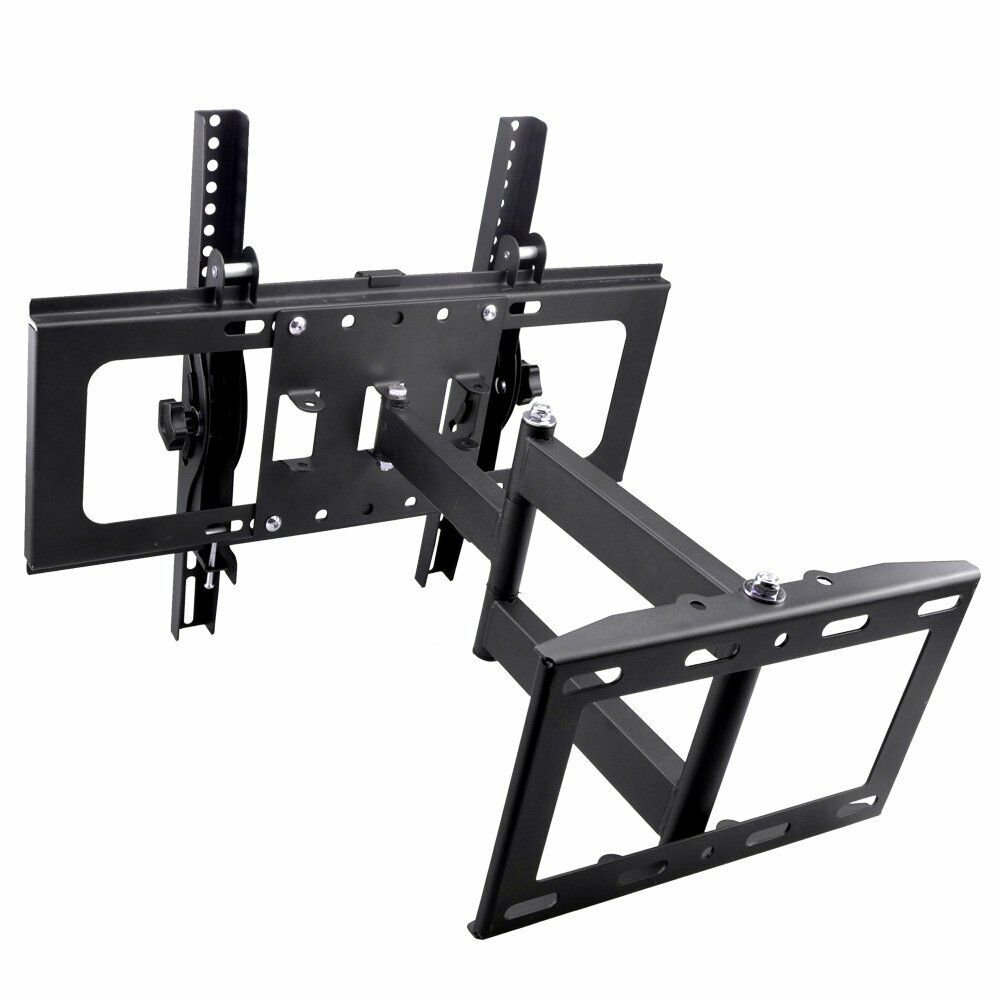lcd led flat screen panel tilt swivel tv wall mount bracket 32 37 40 42 50 55 65 ebay. Black Bedroom Furniture Sets. Home Design Ideas