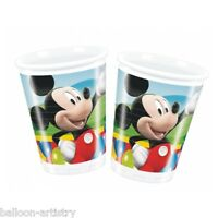 10 Disney Mickey Mouse Clubhouse Balloons Plastic Party Cups