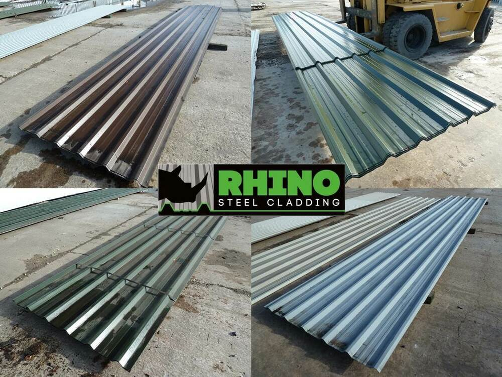Box Profile Roof Sheets Steel Metal Tin Roofing Sheets Old