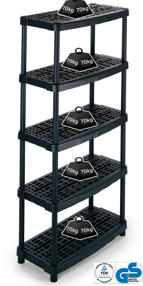 70kg/level. Ventilated Plastic Shelving Unit. Greenhouse ...