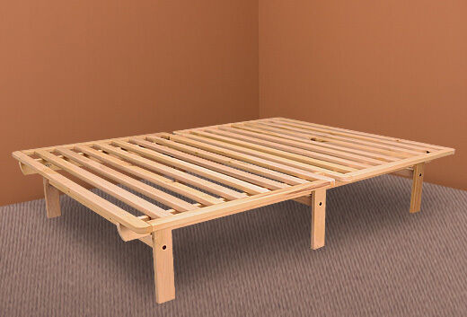 bed frame solid wood ekko platform bed frame twin full queen xl twin size ebay