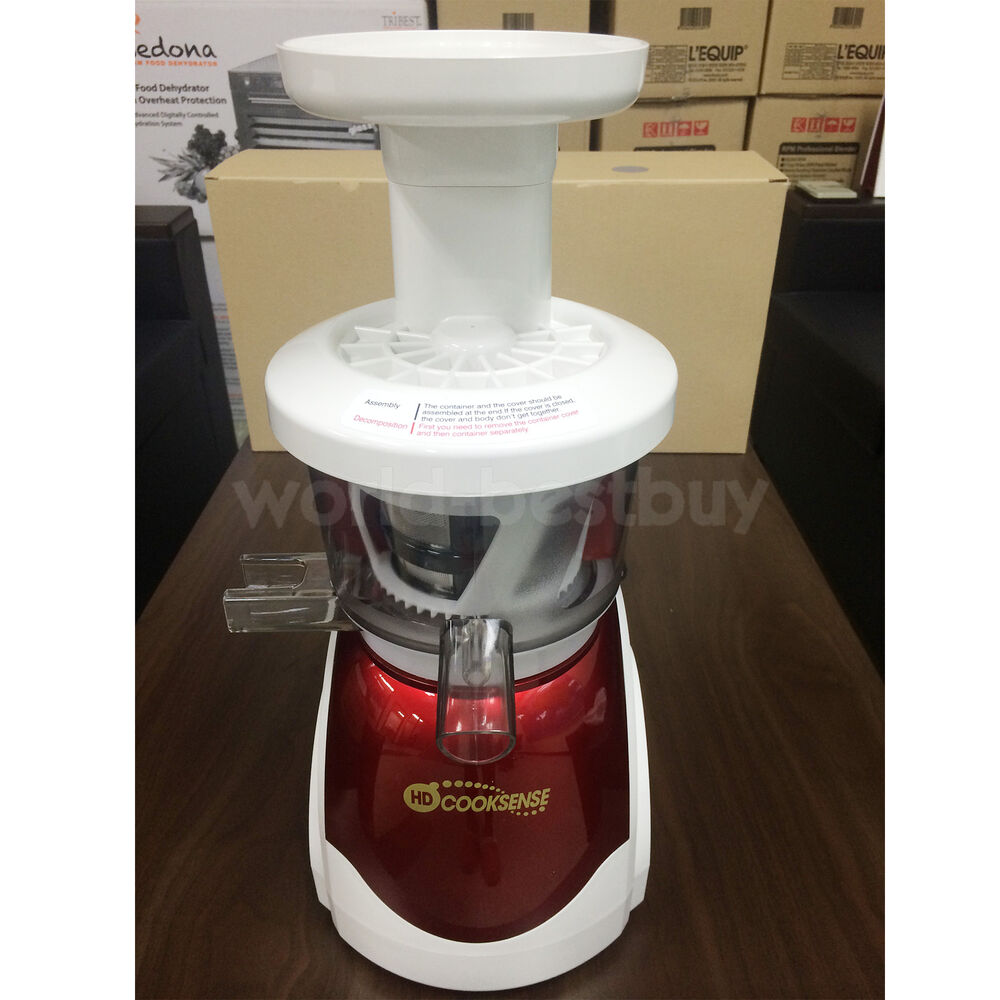 Hyundai Slow Juicer 7750 : Hyundai HD COOKSENSE HD-2234 Blending (HD-8800)Slow Juicer Grinder w-ENG Manual eBay