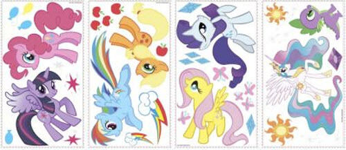 my little pony wall stickers 31 decals horse room decor. Black Bedroom Furniture Sets. Home Design Ideas