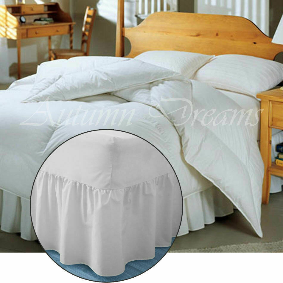 Premium Full (Double) Size Sheets Set - White Hotel Luxury 4-Piece Bed Set, Extra Deep Pocket Special Super Fit Fitted Sheet, Best Quality Microfiber Linen Soft & Durable Design + Better Sleep Guide.