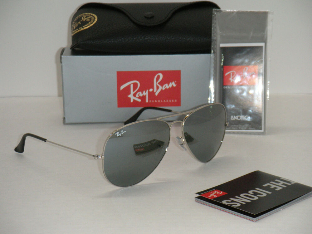 ray ban aviator silver  ray ban aviator rb3025 silver frame with silver mirror rb 3025 003/40 62mm large