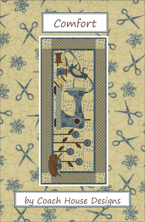 Quilt Pattern Comfort By Coach House Designs Ebay