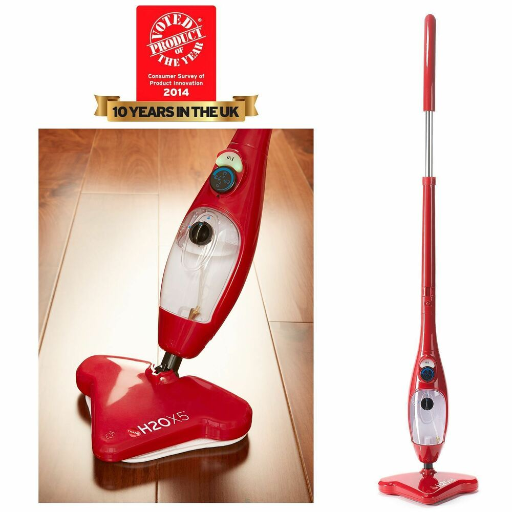 H2o X5 5 In 1 Steam Mop Portable Floor Carpet Garment Hand