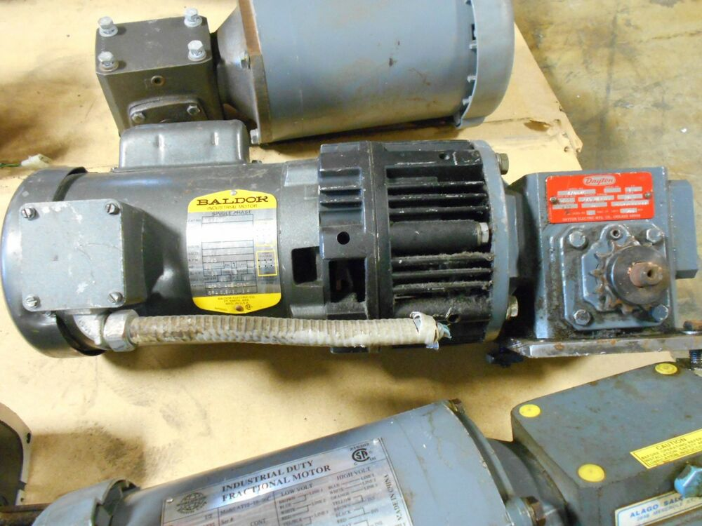 Baldor indust motor vl1301 230 volt hz 60 6 0 3 2 3 0 amp for 3 phase motor hp to amps